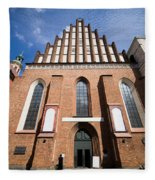 St. John Archcathedral In Warsaw Fleece Blanket