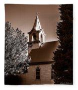 St. John's Lutheran Church In The Trees Fleece Blanket