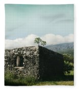 St. Joseph's Church Kaupo Maui Hawaii Fleece Blanket