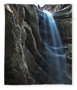 St Louis Falls Starved Rock Sp Fleece Blanket