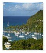 St Lucia Fleece Blanket