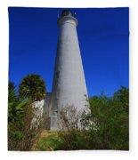 St Marks Lighthouse Fleece Blanket