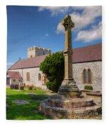 St Mary 1080 Fleece Blanket