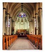 St. Mary's Basilica Halifax Fleece Blanket