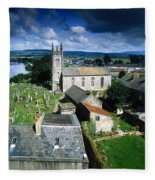 St Marys Cathedral, Co Limerick, Ireland Fleece Blanket