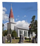 St Marys Catholic Church Dhfx001 Fleece Blanket
