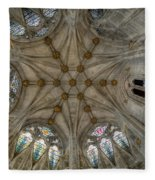 St Mary's Ceiling Fleece Blanket