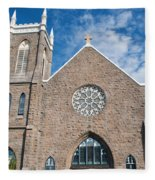 St. Patrick Church Fleece Blanket