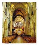 St. Patricks Cathedral, Dublin, Ireland Fleece Blanket