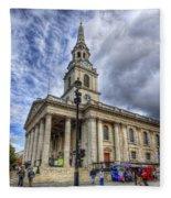St Paul Church Fleece Blanket