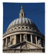St Pauls Cathedral London Fleece Blanket