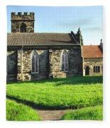 St Peter's Church - Hartshorne Fleece Blanket