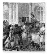 St. Petersburg, 1881 Fleece Blanket