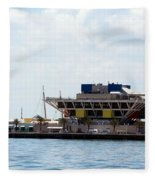 St. Petersburg Pier Fleece Blanket