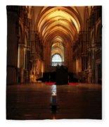 St Thomas Becket's Shrine Fleece Blanket