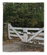 Stable Gate Fleece Blanket