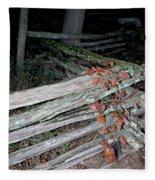 stacked Fence Fleece Blanket