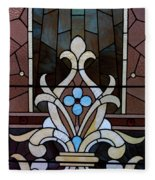 Stained Glass Lc 03 Fleece Blanket