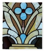 Stained Glass Lc 04 Fleece Blanket