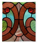 Stained Glass Lc 05 Fleece Blanket