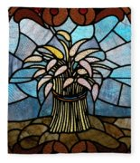 Stained Glass Lc 11 Fleece Blanket