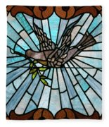 Stained Glass Lc 14 Fleece Blanket