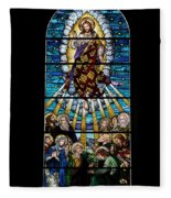 Stained Glass Pc 01 Fleece Blanket