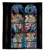 Stained Glass Pc 05 Fleece Blanket