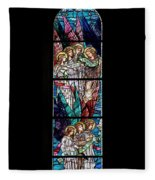 Stained Glass Pc 06 Fleece Blanket