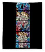 Stained Glass Pc 07 Fleece Blanket