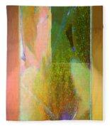 Stained Glass Shower Fleece Blanket