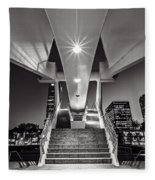 Stairs Of Art Fleece Blanket