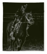 Stand Out Glowing Duo Fleece Blanket