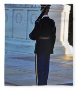 Standing Guard  Fleece Blanket