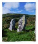 Standing Stone Alignment, Near Fleece Blanket