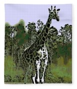 Standing Tall Fleece Blanket
