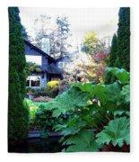 Stanley Park Pavilion Fleece Blanket