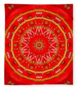 Star Cookie Art Fleece Blanket