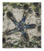 Star Of Longwood Beach Fleece Blanket