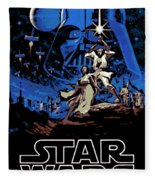 Star Wars Poster Fleece Blanket