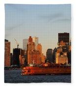 Staten Island Ferry 3 Fleece Blanket