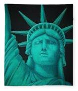 Statue Of Liberty ... Fleece Blanket