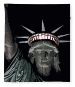Statue Of Liberty Poster Fleece Blanket