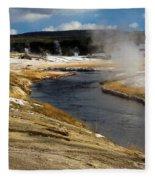 Steam Heating Fleece Blanket