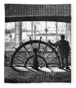 Steamboat: Great Republic Fleece Blanket