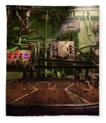 Steampunk - Naval - This Is Where I Do My Job Fleece Blanket