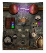 Steampunk - The Modulator Fleece Blanket