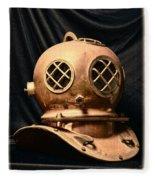 Steampunk - Diving - Diving Helmet Fleece Blanket