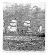 Steamship: Republic Fleece Blanket