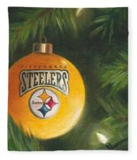 Steelers Ornament Fleece Blanket